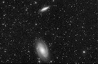 illustration de M81 et M82